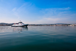 St Bridget sailing from Dun Laoghaire
