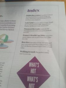 Irish Times What's Hot
